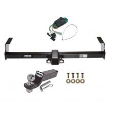 "Reese Trailer Tow Hitch For 99-05 Suzuki Grand Vitara Chevy Tracker 01-06 XL-7 Complete Package w/ Wiring and 2"" Ball"