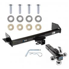 "Reese Trailer Tow Hitch Receiver For 97-04 Mitsubishi Montero Sport w/Tri-Ball Triple Ball 1-7/8"" 2"" 2-5/16"""