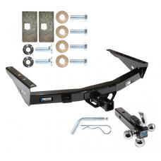"Reese Trailer Tow Hitch Receiver For 00-06 Toyota Tundra w/Tri-Ball Triple Ball 1-7/8"" 2"" 2-5/16"""