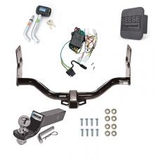 "Reese Trailer Tow Hitch For 96-04 Nissan Pathfinder 97-03 Infiniti QX4 Deluxe Package Wiring 2"" Ball and Lock"