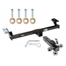 "Reese Trailer Tow Hitch Receiver For 96-05 Toyota RAV4 w/Tri-Ball Triple Ball 1-7/8"" 2"" 2-5/16"""