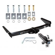"Reese Trailer Tow Hitch Receiver For 91-97 Toyota Land Cruiser 96-97 Lexus LX450 w/Tri-Ball Triple Ball 1-7/8"" 2"" 2-5/16"""
