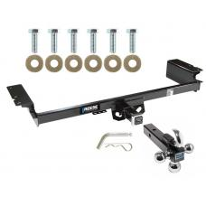 "Reese Trailer Tow Hitch Receiver For 04-09 Nissan Quest w/Tri-Ball Triple Ball 1-7/8"" 2"" 2-5/16"""
