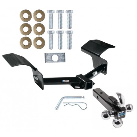 "Reese Trailer Tow Hitch Receiver For 04-09 Cadillac SRX w/o Sport Package Fascia w/Tri-Ball Triple Ball 1-7/8"" 2"" 2-5/16"""