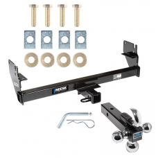 "Reese Trailer Tow Hitch Receiver For 05-15 Toyota Tacoma w/Tri-Ball Triple Ball 1-7/8"" 2"" 2-5/16"""