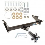 "Reese Trailer Tow Hitch Receiver For 78-95 Chevy G10 20 30 GMC G1500 2500 3500 w/Tri-Ball Triple Ball 1-7/8"" 2"" 2-5/16"""