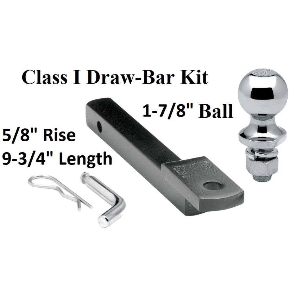 Draw-Tite 3591 Trailer Hitch Drawbar Kit Class I 1-1//4