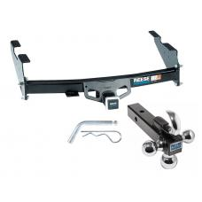 "Reese Trailer Tow Hitch Receiver For 97-04 Ford F150 Styleside Flareside w/Tri-Ball Triple Ball 1-7/8"" 2"" 2-5/16"""