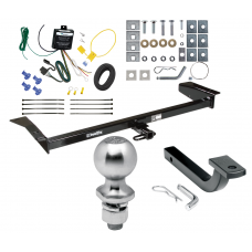 "Trailer Tow Hitch For 98-09 Ford Crown Victoria 81-11 Lincoln Town Car 98-11 Mercury Complete Package w/ Wiring Draw Bar Kit and 2"" Ball"