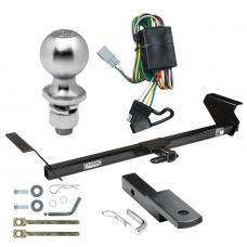 "Trailer Tow Hitch For 95-99 Honda Odyssey Isuzu Oasis Complete Package w/ Wiring Draw Bar Kit and 2"" Ball"