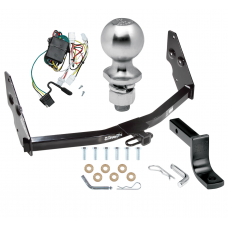 "Trailer Tow Hitch For 97-09 Infiniti QX4 96-04 Nissan Pathfinder Complete Package w/ Wiring Draw Bar Kit and 2"" Ball"