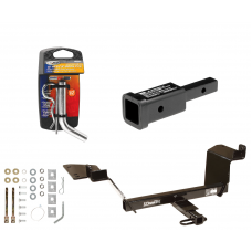 """Trailer Tow Hitch For 97-04 Buick Regal 97-08 Pontiac Grand Prix w/ 2"""" Adapter and Pin/Clip"""
