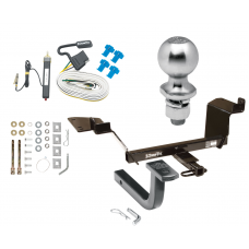 """Trailer Tow Hitch For 97-04 Buick Regal 97-08 Pontiac Grand Prix Complete Package w/ Wiring Draw Bar Kit and 2"""" Ball"""