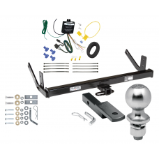 """Trailer Tow Hitch For 98-04 Cadillac Seville Complete Package w/ Wiring Draw Bar Kit and 2"""" Ball"""
