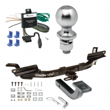 "Trailer Tow Hitch For 97-04 Buick Park Avenue Complete Package w/ Wiring Draw Bar Kit and 2"" Ball"