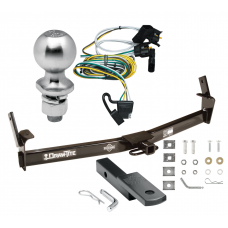 """Trailer Tow Hitch For 01-03 Ford Explorer 2 Dr. Sport Complete Package w/ Wiring Draw Bar Kit and 2"""" Ball"""