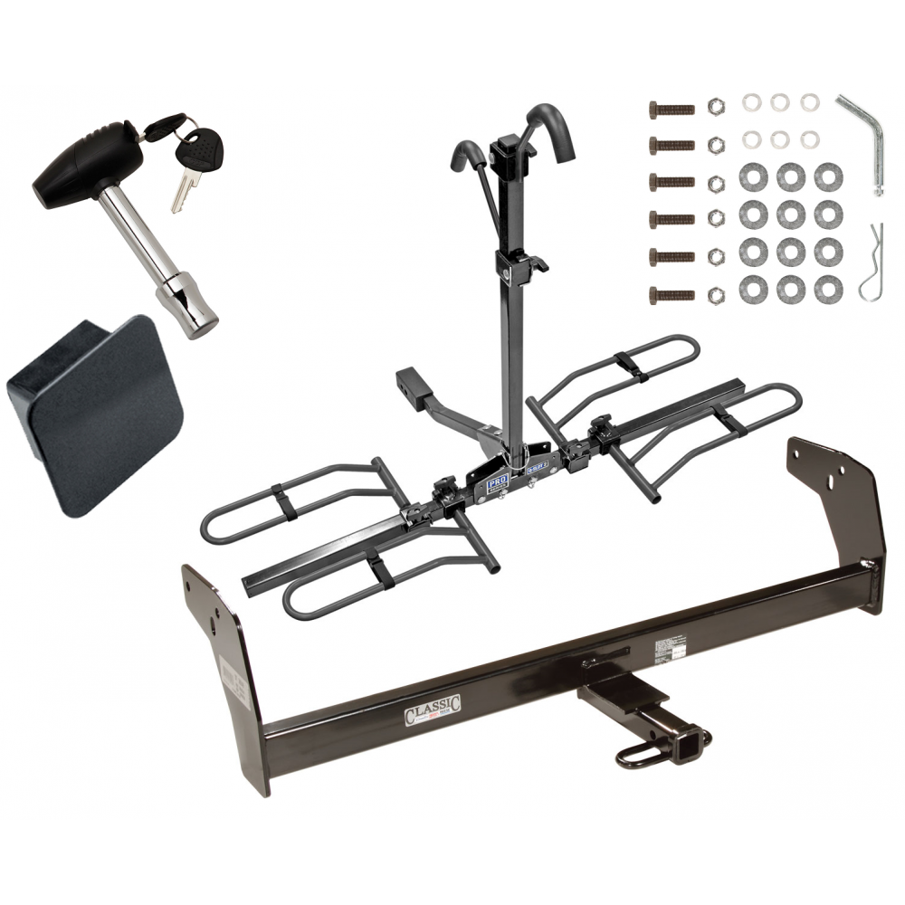 Trailer Tow Hitch For 83-04 Chevy S10 GMC S15 Sonoma Hombre w// Draw Bar Kit