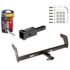 """Trailer Tow Hitch For 83-04 Chevy GMC S10 S15 Sonoma Isuzu Hombre w/ 2"""" Adapter and Pin/Clip"""
