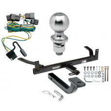 """Trailer Tow Hitch For 00-03 Ford Taurus Mercury Sable Complete Package w/ Wiring Draw Bar Kit and 2"""" Ball"""