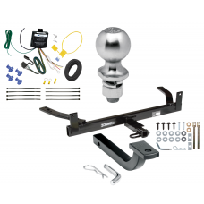 """Trailer Tow Hitch For 88-02 Lincoln Continental Complete Package w/ Wiring Draw Bar Kit and 2"""" Ball"""