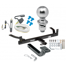 """Trailer Tow Hitch For 92-99 Ford Taurus 92-03 Mercury Sable Complete Package w/ Wiring Draw Bar Kit and 2"""" Ball"""