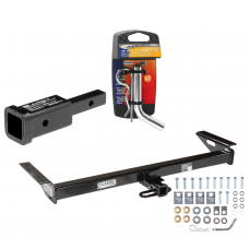 """Trailer Tow Hitch For 84-01 Jeep Cherokee 84-90 Wagoneer w/ 2"""" Adapter and Pin/Clip"""