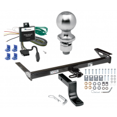 """Trailer Tow Hitch For 84-96 Jeep Cherokee Wagoneer Complete Package w/ Wiring Draw Bar Kit and 2"""" Ball"""
