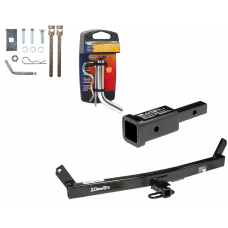 """Trailer Tow Hitch For 93-04 Volvo 580 C70 S70 V70 w/ 2"""" Adapter and Pin/Clip"""