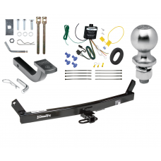 "Trailer Tow Hitch For 93-04 Volvo 580 C70 S70 V70 Complete Package w/ Wiring Draw Bar Kit and 2"" Ball"