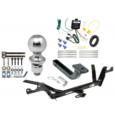 """Trailer Tow Hitch For 97-99 Cadillac DeVille Complete Package w/ Wiring Draw Bar Kit and 2"""" Ball"""
