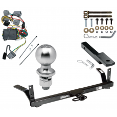"""Trailer Tow Hitch For 98-04 Chrysler Dodge Intrepid Complete Package w/ Wiring Draw Bar Kit and 2"""" Ball"""