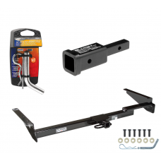 """Trailer Tow Hitch For 99-03 Lexus RX300 01-03 Toyota Highlander w/ 2"""" Adapter and Pin/Clip"""