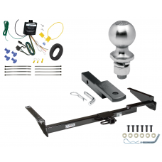 """Trailer Tow Hitch For 99-03 Lexus RX300 Complete Package w/ Wiring Draw Bar Kit and 2"""" Ball"""