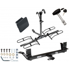 Trailer Tow Hitch For 02-04 Chrysler Concorde 99-01 LHS Platform Style 2 Bike Rack Hitch Lock and Cover