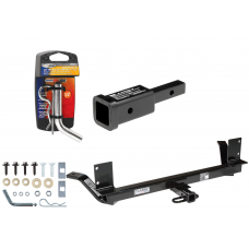 """Trailer Tow Hitch For 02-04 Chrysler Concorde 99-01 LHS w/ 2"""" Adapter and Pin/Clip"""