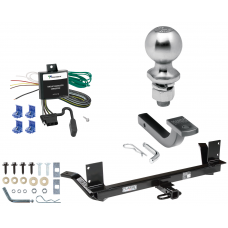 """Trailer Tow Hitch For 03-04 Chrysler Concorde 00-01 LHS Complete Package w/ Wiring Draw Bar Kit and 2"""" Ball"""