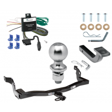 "Trailer Tow Hitch For 99-02 Mercury Villager Nissan Quest Complete Package w/ Wiring Draw Bar Kit and 2"" Ball"