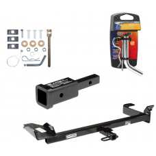 """Trailer Tow Hitch For 99-03 Saab 9-3 Convertible w/ 2"""" Adapter and Pin/Clip"""