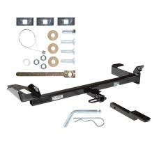 "Trailer Tow Hitch For 99-03 Saab 9-3 1-1/4"" Towing Receiver Class 2 w/ Draw Bar Kit"