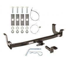 "Trailer Tow Hitch For 00-06 Lincoln LS 1-1/4"" Towing Receiver w/ Draw Bar Kit"