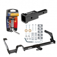 """Trailer Tow Hitch For 00-04 Subaru Outback Legacy w/ 2"""" Adapter and Pin/Clip"""