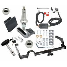 """Trailer Tow Hitch For 00-04 Subaru Outback Wagon Except Sport Ultimate Package w/ Wiring Draw Bar Kit Interchange 2"""" 1-7/8"""" Ball Lock and Cover"""
