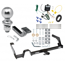 """Trailer Tow Hitch For 00-04 Subaru Outback Legacy Complete Package w/ Wiring Draw Bar Kit and 2"""" Ball"""