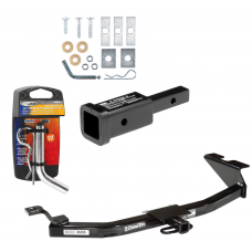 """Trailer Tow Hitch For 99-05 Saab 9-5 w/ 2"""" Adapter and Pin/Clip"""