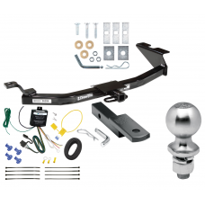 """Trailer Tow Hitch For 99-05 Saab 9-5 Complete Package w/ Wiring Draw Bar Kit and 2"""" Ball"""