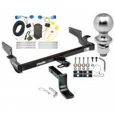 "Trailer Tow Hitch For 06-11 Cadillac DTS Complete Package w/ Wiring Draw Bar Kit and 2"" Ball"