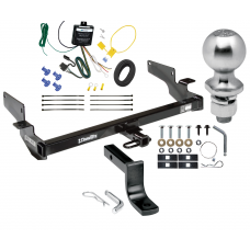 "Trailer Tow Hitch For 00-05 Cadillac DeVille Complete Package w/ Wiring Draw Bar Kit and 2"" Ball"