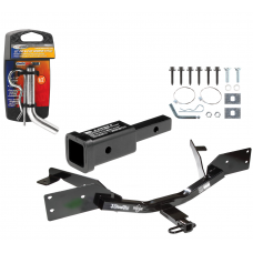 "Trailer Tow Hitch For 00-07 Chevy Monte Carlo Except SS Sport Appearance w/ 2"" Adapter and Pin/Clip"
