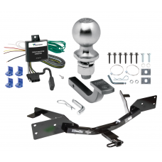 "Trailer Tow Hitch For 00-05 Chevy Monte Carlo Except SS Sport Appearance Complete Package w/ Wiring Draw Bar Kit and 2"" Ball"