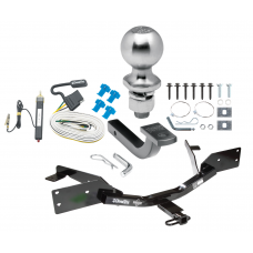 "Trailer Tow Hitch For 06-07 Chevy Monte Carlo Except SS Sport Appearance Complete Package w/ Wiring Draw Bar Kit and 2"" Ball"